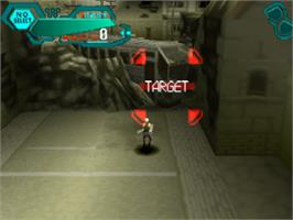 In game image of Silent Bomber on the Sony Playstation.