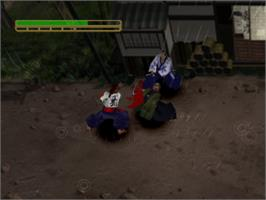 In game image of Soul of the Samurai on the Sony Playstation.