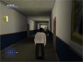 In game image of Syphon Filter 3 on the Sony Playstation.