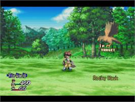 In game image of Tales of Destiny II on the Sony Playstation.