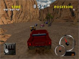 In game image of Test Drive: Off-Road 2 on the Sony Playstation.
