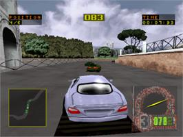 In game image of Test Drive 6 on the Sony Playstation.