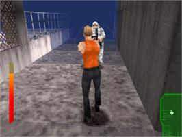 In game image of The Fifth Element on the Sony Playstation.