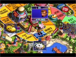 In game image of The Game of Life on the Sony Playstation.
