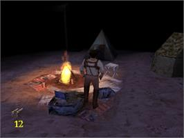 In game image of The Mummy on the Sony Playstation.