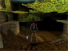 In game image of Tomb Raider III: Adventures of Lara Croft on the Sony Playstation.