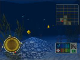In game image of Treasures of the Deep on the Sony Playstation.