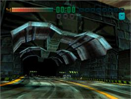 In game image of Tunnel B1 on the Sony Playstation.