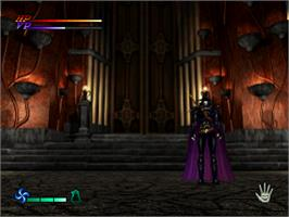 In game image of Vampire Hunter D on the Sony Playstation.