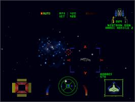 In game image of Wing Commander III: Heart of the Tiger on the Sony Playstation.