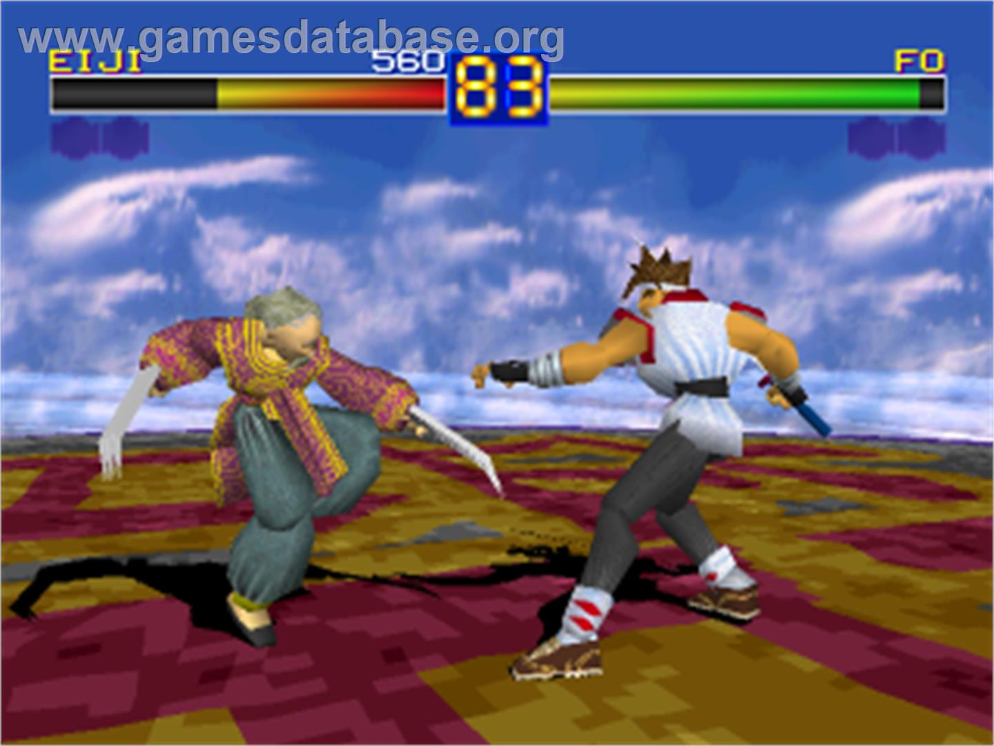 Battle Arena Toshinden - Sony Playstation - Artwork - In Game