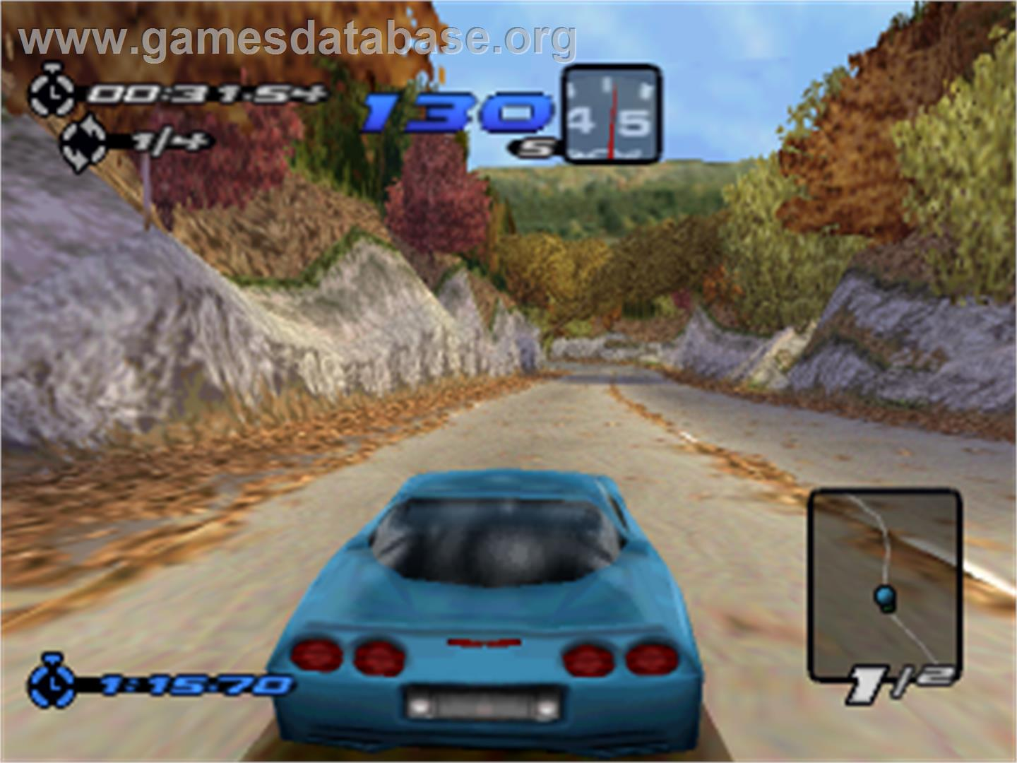 Need For Speed Iii Hot Pursuit Sony Playstation Artwork In Game