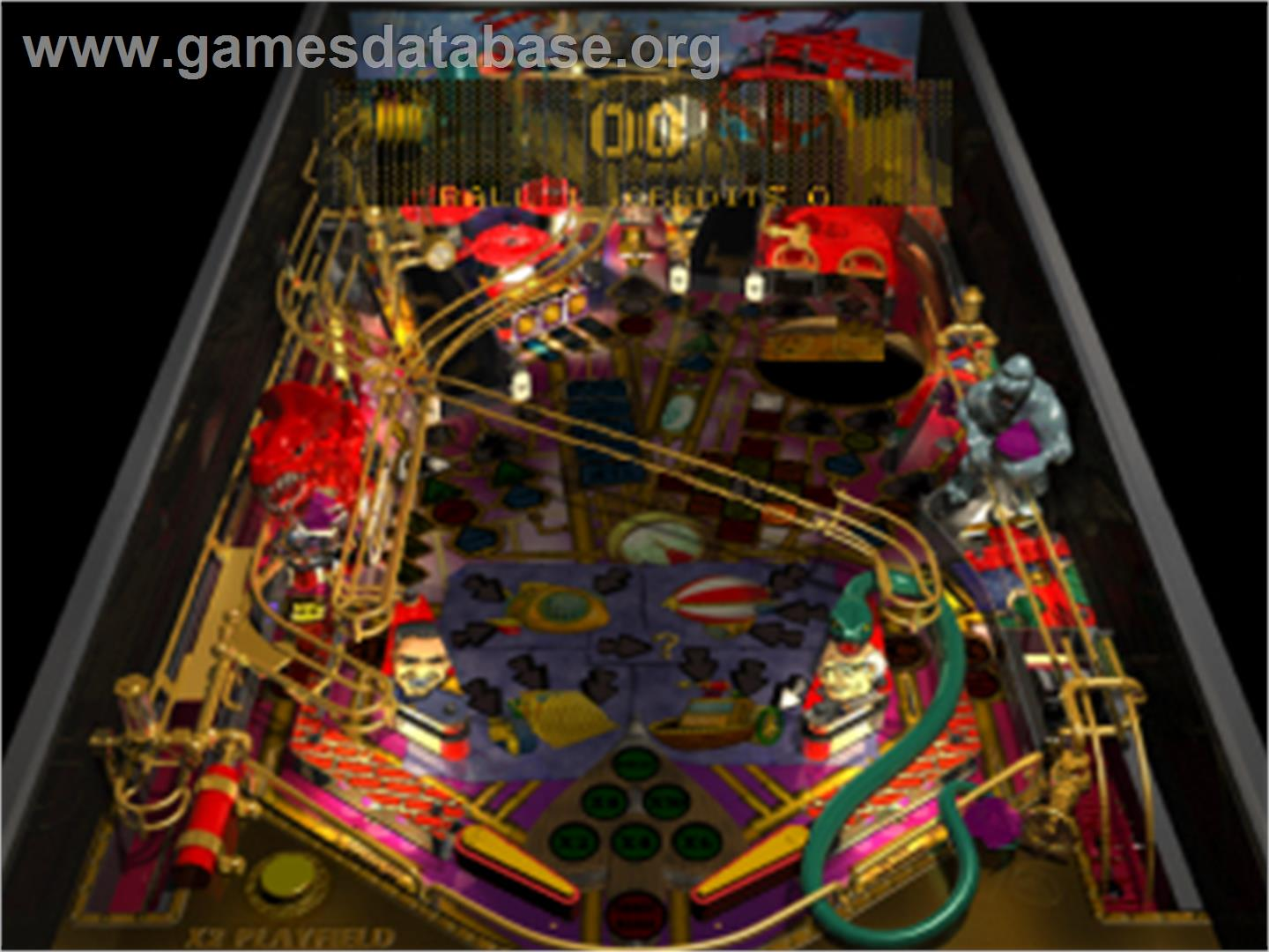 Pro Pinball: Fantastic Journey - Sony Playstation - Artwork - In Game