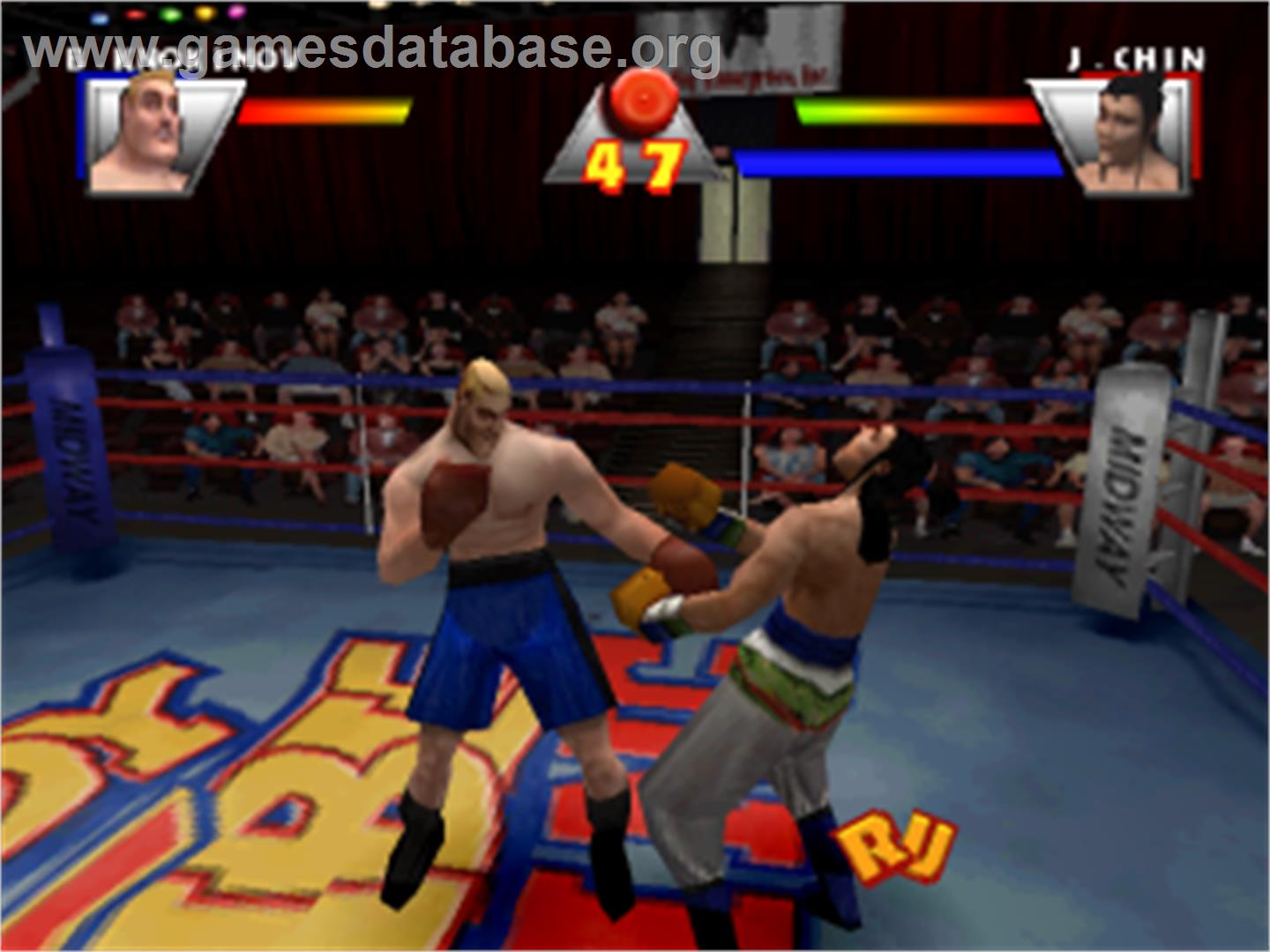 Ready 2 Rumble Boxing - Sony Playstation - Games Database