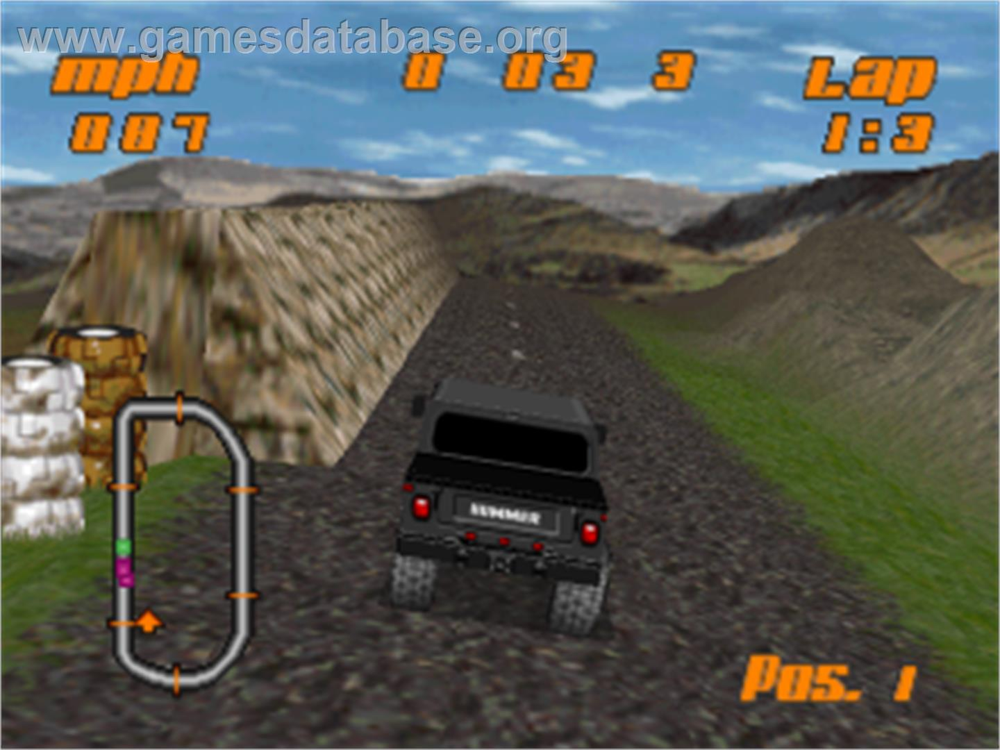 test drive off road sony playstation games database
