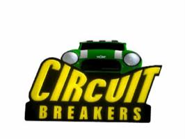 Title screen of Circuit Breakers on the Sony Playstation.