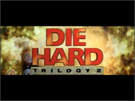 Title screen of Die Hard Trilogy 2: Viva Las Vegas on the Sony Playstation.