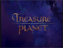 Title screen of Disney's Treasure Planet on the Sony Playstation.
