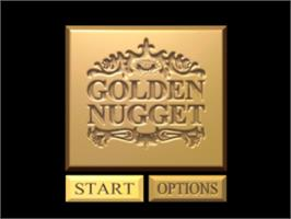 Title screen of Golden Nugget on the Sony Playstation.