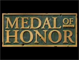 Title screen of Medal of Honor on the Sony Playstation.