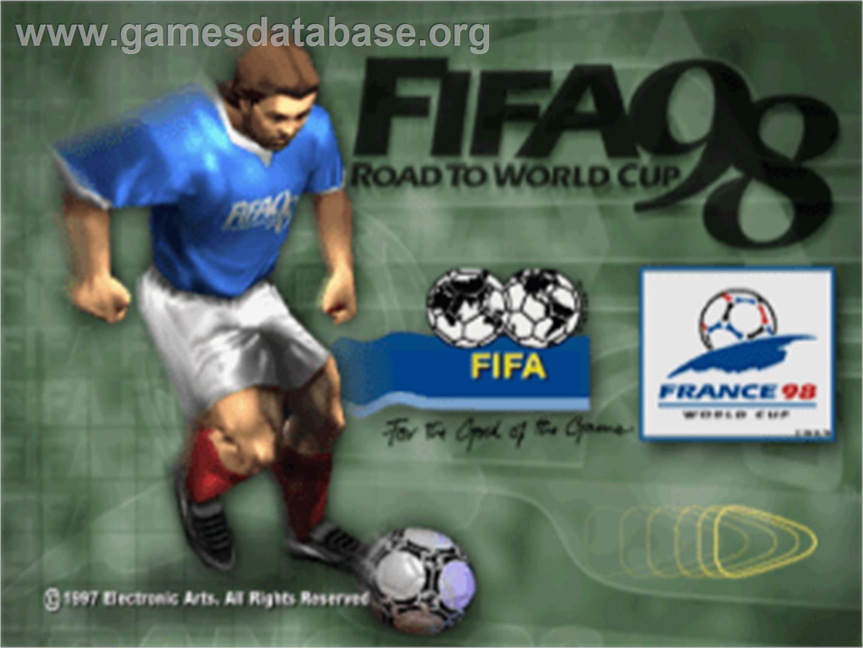 Si Jugaste a FIFA 98 Entra aca!