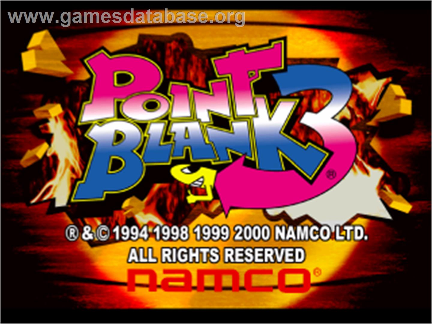game music n a also on arcade series point blank point blank 2 video