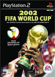 Box cover for 2002 FIFA World Cup on the Sony Playstation 2.