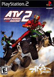 Box cover for ATV: Quad Power Racing 2 on the Sony Playstation 2.