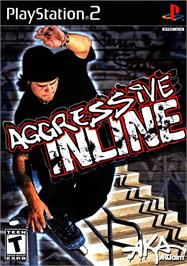 Box cover for Aggressive Inline on the Sony Playstation 2.