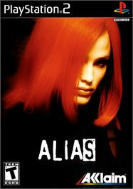 Box cover for Alias on the Sony Playstation 2.