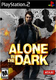 Box cover for Alone in the Dark on the Sony Playstation 2.