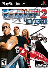 Box cover for American Chopper 2: Full Throttle on the Sony Playstation 2.