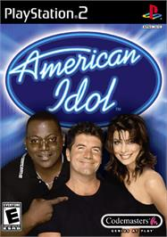 Box cover for American Idol on the Sony Playstation 2.