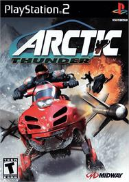 Box cover for Arctic Thunder on the Sony Playstation 2.