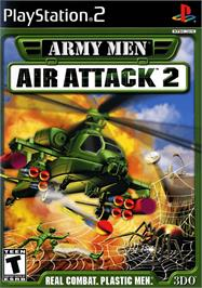 Box cover for Army Men: Air Attack 2 on the Sony Playstation 2.