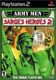 Box cover for Army Men: Sarge's Heroes 2 on the Sony Playstation 2.