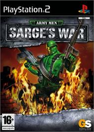 Box cover for Army Men: Sarge's War on the Sony Playstation 2.