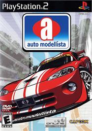 Box cover for Auto Modellista on the Sony Playstation 2.