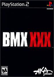 Box cover for BMX XXX on the Sony Playstation 2.