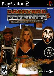 Box cover for Backyard Wrestling 2: There Goes the Neighborhood on the Sony Playstation 2.
