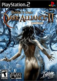Box cover for Baldur's Gate: Dark Alliance 2 on the Sony Playstation 2.