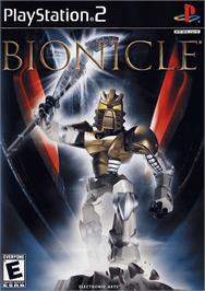 Box cover for Bionicle on the Sony Playstation 2.