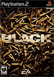 Box cover for Black on the Sony Playstation 2.
