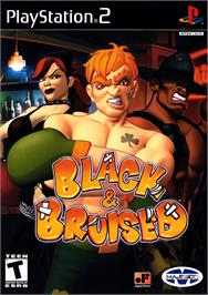 Box cover for Black & Bruised on the Sony Playstation 2.