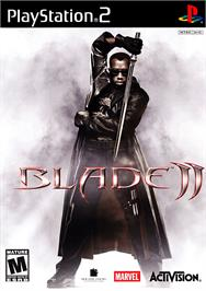 Box cover for Blade 2 on the Sony Playstation 2.
