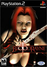Box cover for BloodRayne on the Sony Playstation 2.