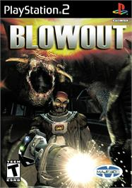 Box cover for Blowout on the Sony Playstation 2.