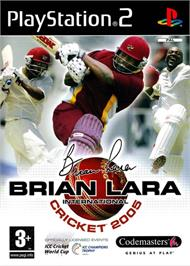 Box cover for Brian Lara International Cricket 2005 on the Sony Playstation 2.