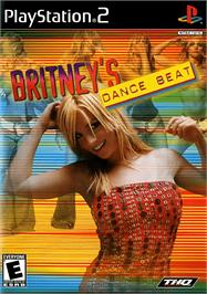 Box cover for Britney's Dance Beat on the Sony Playstation 2.