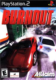 Box cover for Burnout on the Sony Playstation 2.